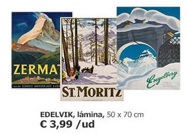 Láminas Edelvik Ikea