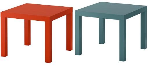 Mesas lack de Ikea