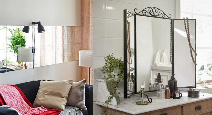 Nuevos espejos de ikea para decorar tu casa for Espejos de pie ikea