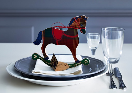 Poner la mesa de navidad