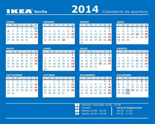 Horario Ikea Sevilla