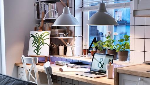 Decoracion mueble sofa: lamparas cocina ikea