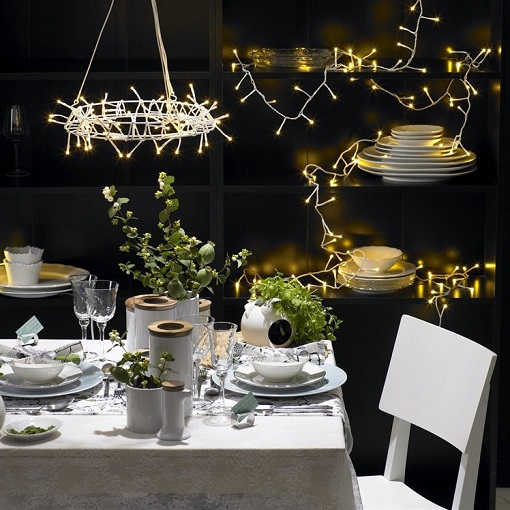 Mesa nochevieja mueblesueco - Decoracion mesa nochevieja ...