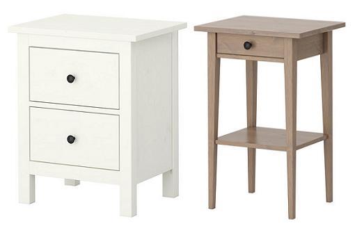 Decorar cuartos con manualidades mesas de noche ikea for Mesitas y comodas ikea