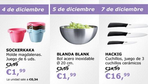 ofertas de ikea diciembre 2013