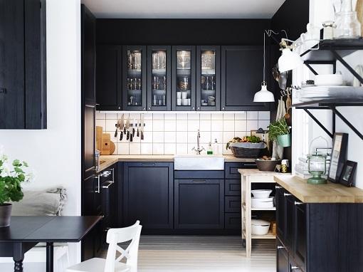 nuevas fotos de las cocinas metod de ikea mueblesueco ForCocina Negra Ikea