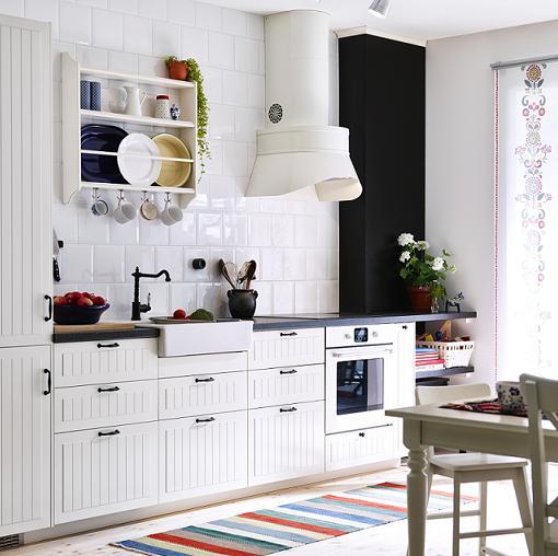 Mi casa decoracion fregaderos con mueble baratos - Cocinas blancas ikea ...