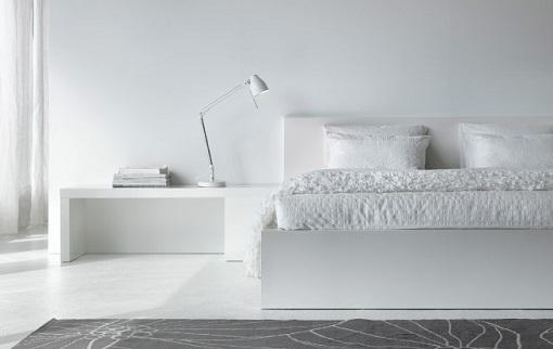 Dormitorio blanco de Ikea