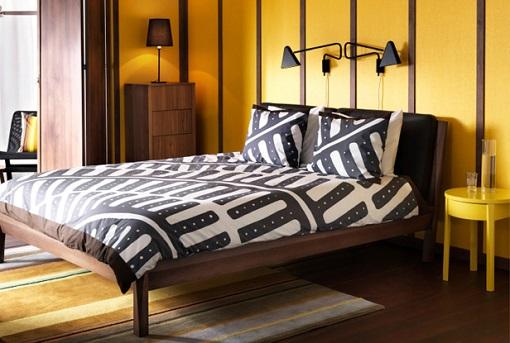 Dormitorio de madera Ikea