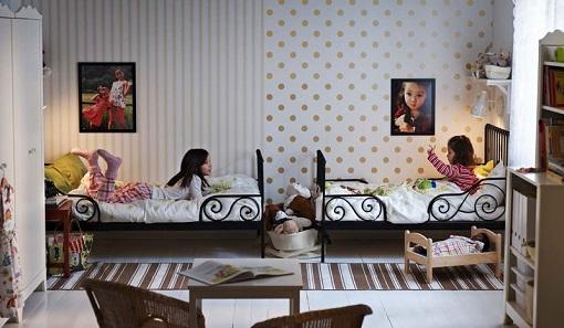 Dormitorio infantil papel pintado