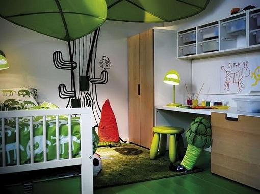 Habitación infantil niño