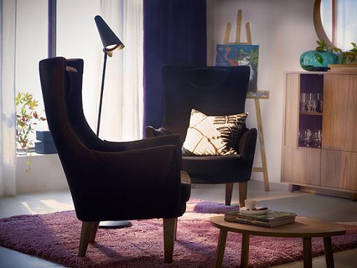 las butacas de ikea mas estilosas para tu salon