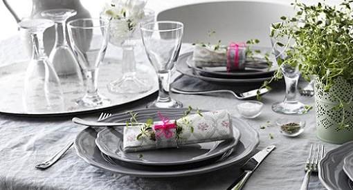 los mejores platos y vajillas de ikea para tu mesa