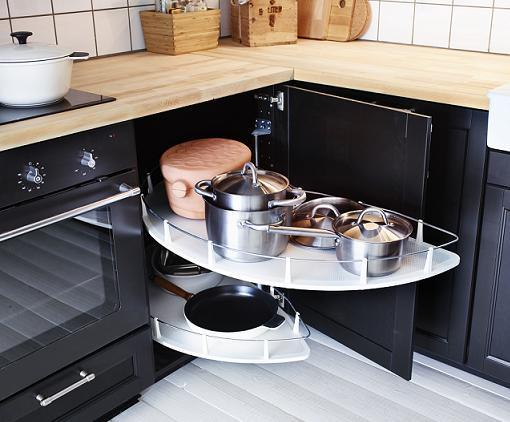Decoracion mueble sofa organizadores de cocina for Ikea cocinas accesorios