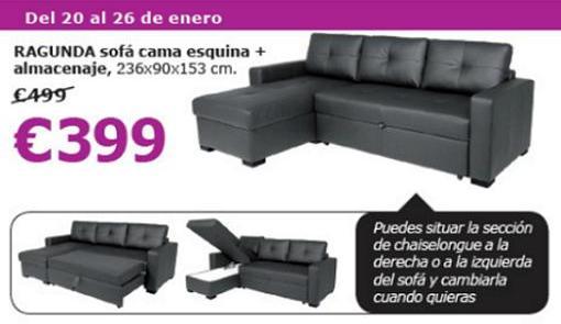 ofertas de ikea esta semana este sofa y mas productos a precios