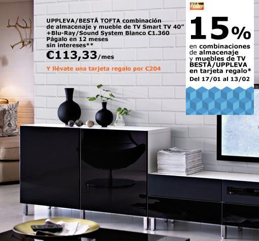 Ofertas de ikea 2014 mueble tv mueblesueco - Mueble television ikea ...