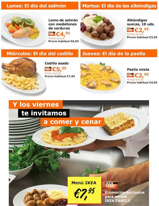 ofertas ikea 2014 restaurante