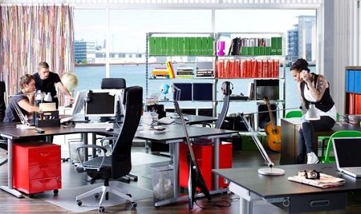 Muebles de oficina Ikea para decorar el espacio de trabajo