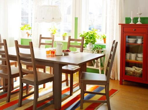 Sillas de madera de ikea para el comedor y la cocina   mueblesueco