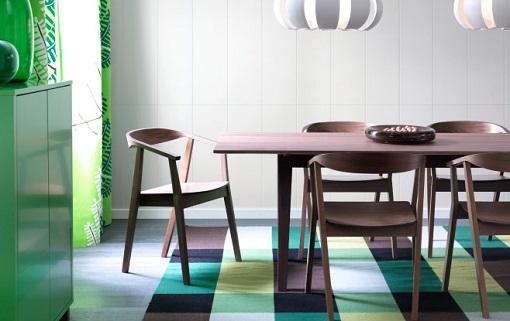 Sillas de madera de Ikea para el comedor y la cocina - mueblesueco