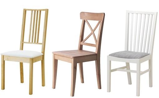 Lote de mesas y sillas para cocinas en madera - Cojines sillas cocina ...