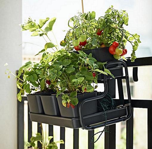 socker ikea colgador balcón plantas macetas