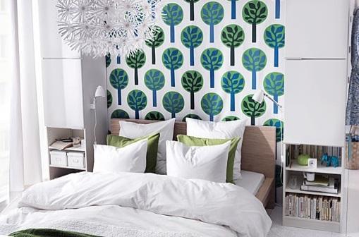 Tela dormitorio Ikea