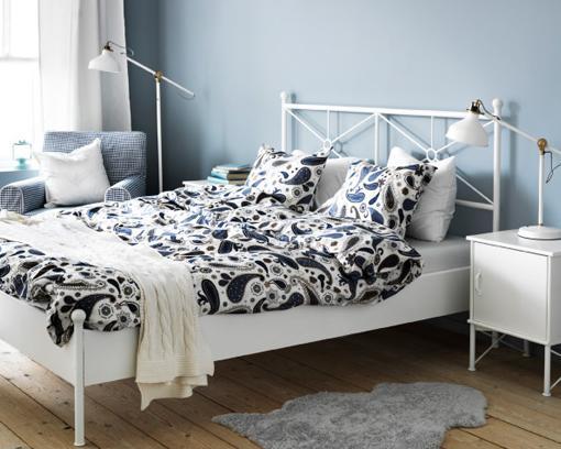 Decorar cuartos con manualidades ikea cabeceros cama for Mesillas de forja ikea