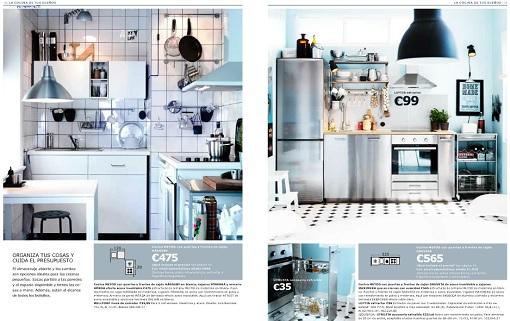Nuevo cat logo de cocinas ikea 2014 ahora con los muebles for Catalogo cocinas baratas