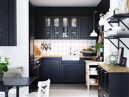 5 cocinas rústicas Ikea: estilo tradicional - mueblesueco