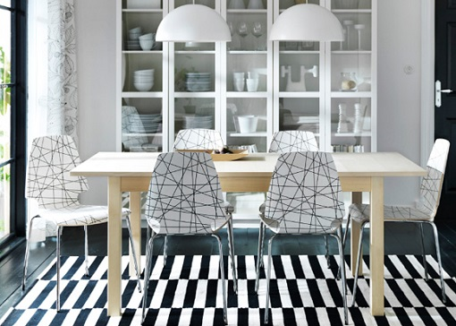 Cómo decorar con muebles de Ikea tu comedor - mueblesueco