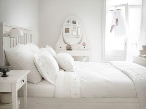 7 dormitorios de Ikea con muebles Hemnes - mueblesueco