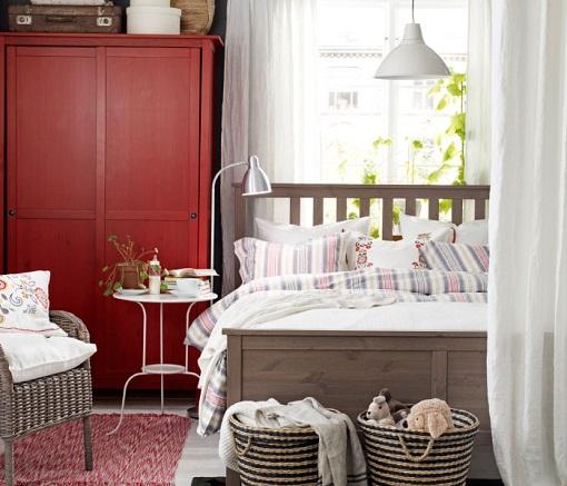 Dormitorio Hemnes rústico