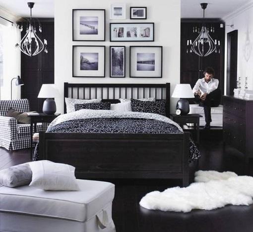 dormitorios de Ikea con muebles Hemnes  mueblesueco