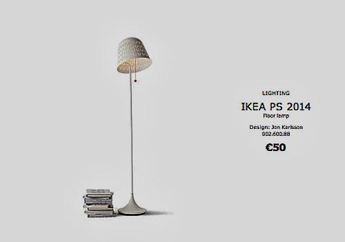 Lámpara de pie Ikea PS 2014