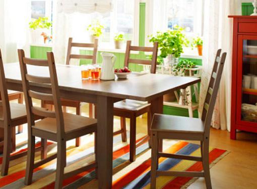 Mesas de cocina ikea extensible stornas mueblesueco for Mesa cocina extensible ikea