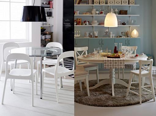 Mesa cocina ikea blanca