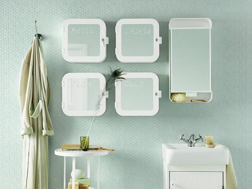 Nuevos muebles de ba o ikea armarios y otros accesorios - Armarios de pared para banos ...