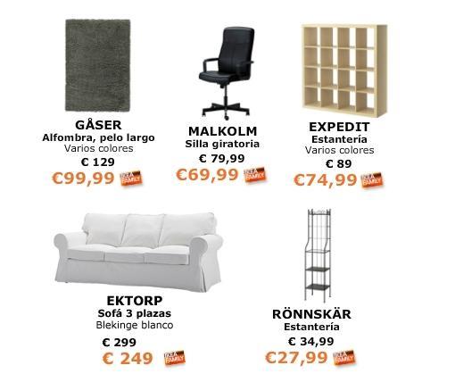 ofertas ikea febrero 2014 muebles accesorios