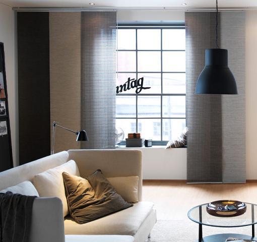 Cortinas Y Paneles Japoneses De Ikea Para Ventanas Mueblesueco