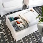 Reposapiés y puff Ikea para el salón: Los más bonitos y prácticos