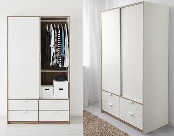 Los armarios de ikea m s baratos para el dormitorio for Armarios baratos pamplona