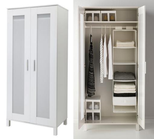 Casas cocinas mueble armarios de dormitorio ikea for Puertas roperos empotrados ikea