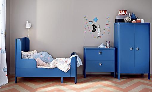 BUSUNGE, nuevos muebles infantiles de Ikea para el dormitorio