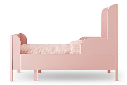 cama rosa ikea infantiles busunge