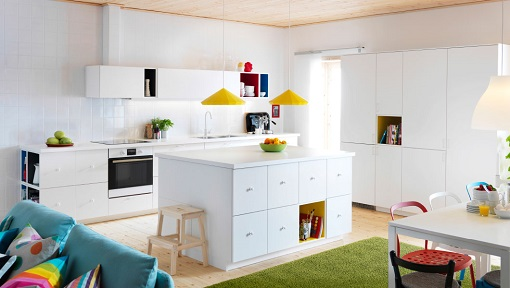 Cocinas Ikea 2014 con isla