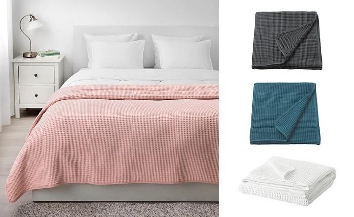 Las mejores colchas de ikea para cama de matrimonio - Ikea mantas para camas ...