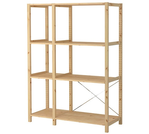 Decoracion mueble sofa estanterias de ikea for Mueble estanteria ikea