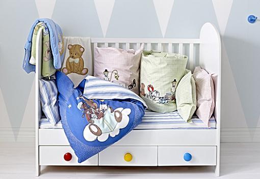Las mejores cunas de ikea para la habitaci n del beb - Habitacion bebe ikea ...