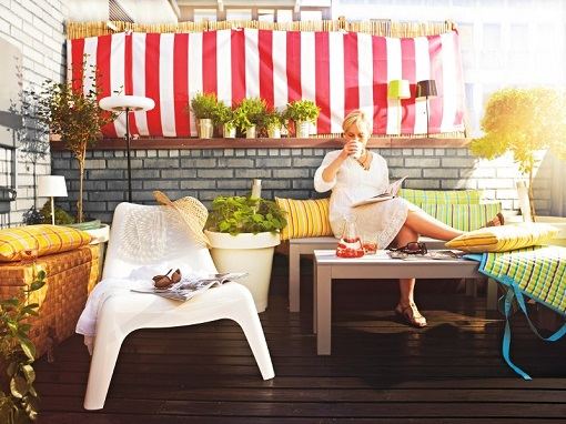 Decoracion Terrazas Ikea ~   muebles de jard?n 2014 sill?n Ikea PS Vago, ahora en m?s colores